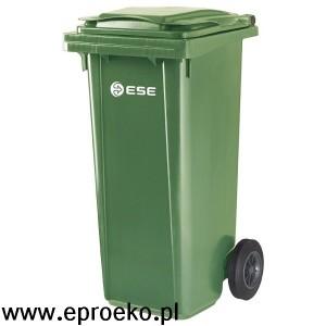 Pojemnik na odpady 120l ESE zielony