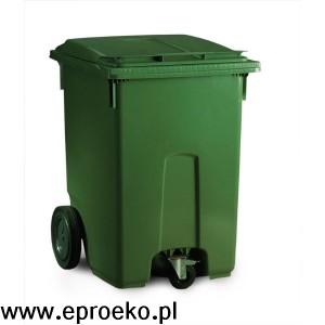 Pojemnik na odpady 400 litrów ESE