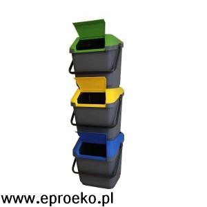 Stacja do segregacji surowców EasyMax 105 litrów