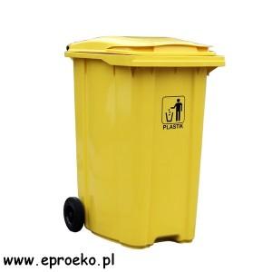 Pojemnik, kosz, kontener na plastik MGB-360 ESE
