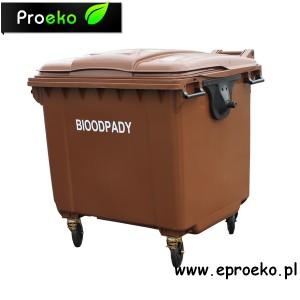 Kontener, pojemnik na bioodpady 1100L BIO ESE