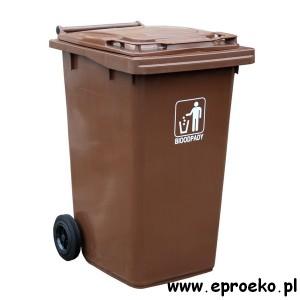 Pojemnik kosz 240l ESE BIO bioodpady