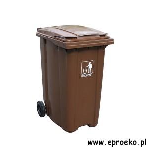 Pojemnik kosz 360l ESE BIO bioodpady
