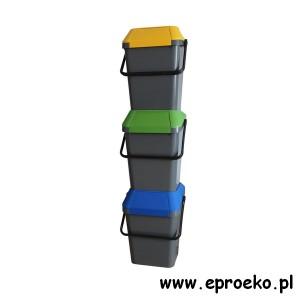 Stacja do segregacji surowców EasyMax 3X45L